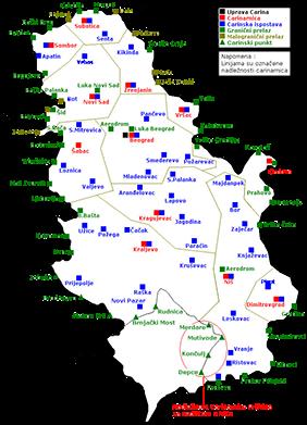 senta srbija mapa VOJSPED Senta   Carinjenje i Transport   export import senta srbija mapa